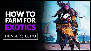 DAUNTLESS GUIDE  |  How To Farm/Get EXOTICS  -  Chances & Hunts