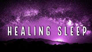 Healing Sleep Music ★︎ Body Mind Restoration ★︎ Melatonin Release, Stress Relief, Black Screen