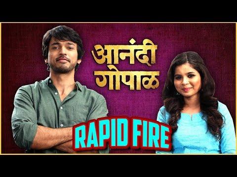 Anandi Gopal  Rapid Fire With Lalit Prabhakar & Bhagyashree Milind  Zee Studios