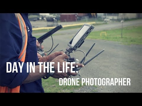 Day In The Life: Commercial Drone Operator/ Photographer