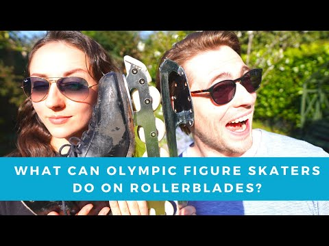 What Can Olympic Figure Skaters Do On Rollerblades?