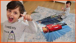 Yankı Arabalar Dev Puzzle Yaptı | Prens Yankı Puzzle