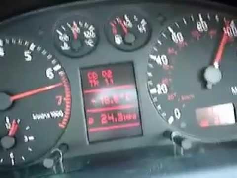 AUDI A4 28 Quattro Acceleration