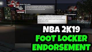 NBA 2K19 FOOT LOCKER ENDORSEMENT BIG CASH DEAL