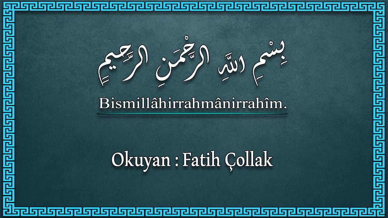 Fatih Çollak - 531.Sayfa - Rahmân Suresi (17-40)