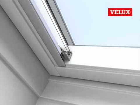 velux einbauvideo faltstore plissee youtube. Black Bedroom Furniture Sets. Home Design Ideas