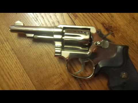 Smith and Wesson Model 10-5 (barter deal)