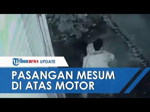Pasangan Mesum Di Atas Motor Di Tasikmalaya Terekam Kamera CCTV Hotel, Kini Pelaku Sedang Diburu