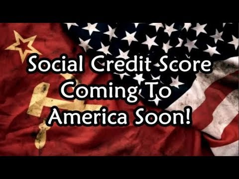 DONALD TRUMP – CHINA LIKE SOCIAL CREDIT SCORE COMING TO AMERICA SOON!