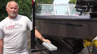 EZEE Step Custom Boat Trailer Steps