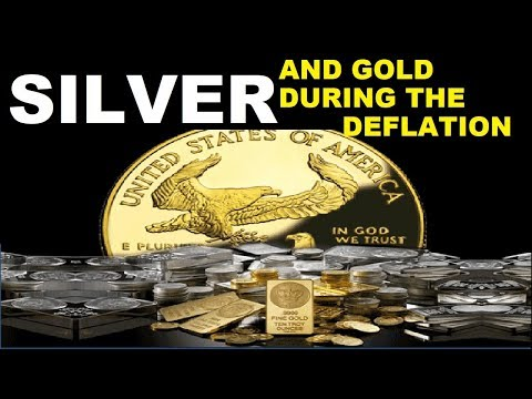 SILVER AND GOLD DURING THE DEFLATIONARY EVENT