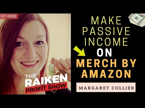 How To Make Passive Income Online Selling T Shirts on Merch By Amazon