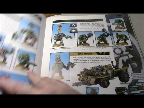vlog #1022 - Getting ready for 8th: 3rd edition Ork codex.