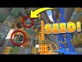 BEST RAVINE SEED in Minecraft 1.2 w/ Mineshafts at SPAWN!! (Pocket Edition, Xbox, PS3/4, PC)
