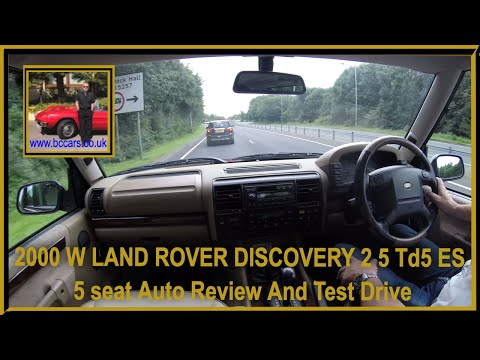 Virtual Video Test Drive in our 2000 W LAND ROVER DISCOVERY 2 5 Td5 ES 5 seat Auto