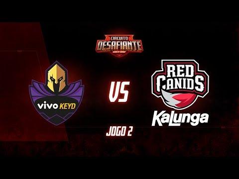Circuito Desafiante 2019: 2ª Etapa - Fase de Pontos  Vivo Keyd x RED Kalunga Jogo 2