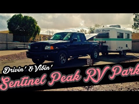Sentinel Peak RV Park - Review by Drivin' & Vibin' - Tucson, Arizona