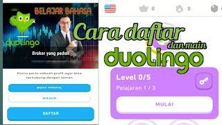 bahasa inggris gratis, Tutorial daftar duolingo belajar dan cara menggunakan|. screenshot 5