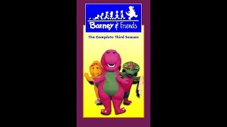 Barney & Friends: The Complete Third Season 1995 VHS (Tape 1) (FAKE)