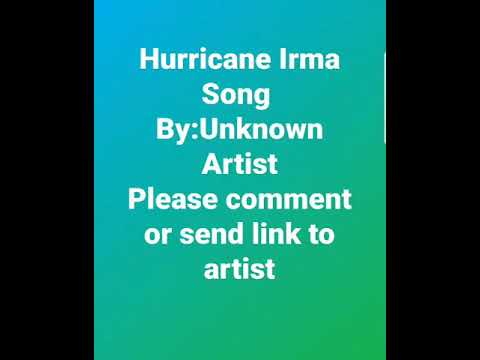 Hurricane Irma Song #reggae #dancehall #Hurricane-Irma