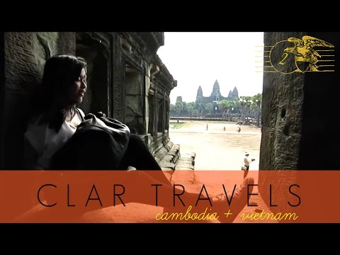 CLAR TRAVELS: Temple Running at Angkor Wat! - April 22, '15 - clar831 Vlog