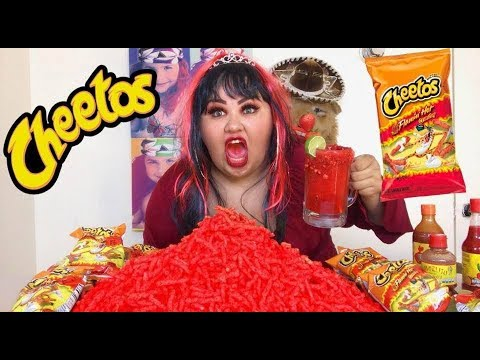Flamin Hot Cheetos Challenge