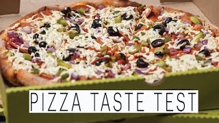 Vegan Pizza Delivery Taste Test | Panago Pizza | The Edgy Veg