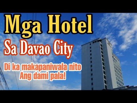 Mga HOTEL SA DAVAO CITY, 40 Mahigit Na ! Wow