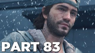 FINAL BOUNTY HUNTER MISSION in DAYS GONE Walkthrough Gameplay Part 83 (PS4 Pro)