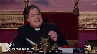 Corrado Guzzanti - Monsignor Pizarro (Propaganda Live 2/2)