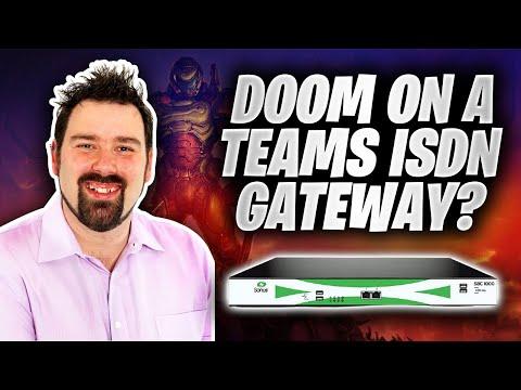 Running Doom on a Teams ISDN Gateway?