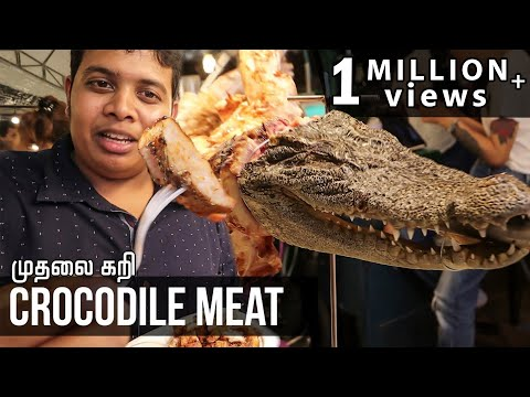 Eating Crocodile In Thailand