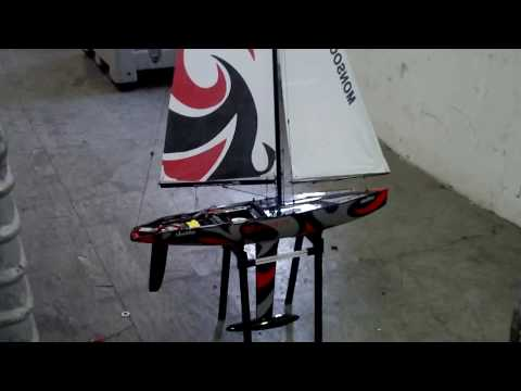 Sailboat rc plane