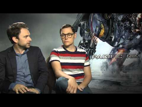 Charlie Day and Burn Gorman Pacific Rim