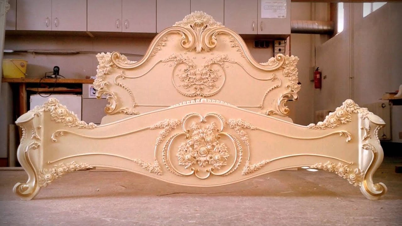 Woodcarving Bed Of Roses Youtube