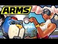 ARMS Gameplay - Nintendo Switch Hands-On Footage - NEW Twintelle, Byte & Barq, Kid Cobra - Hoops
