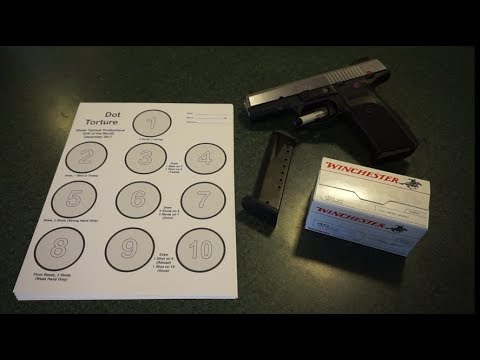 Ghost Tactical December Dot Drill Test of the Month Ruger SR40