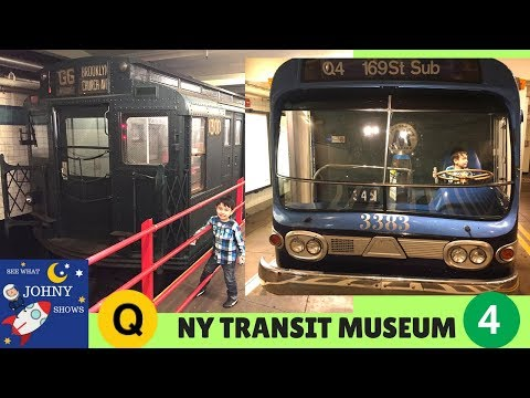 MTA Train Ride To NYC Transit Museum