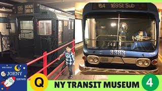 MTA Train Ride To NYC Transit Museum