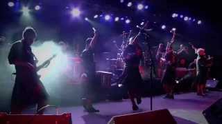 Red Hot Chilli Pipers Gimme All Your Lovin' Live
