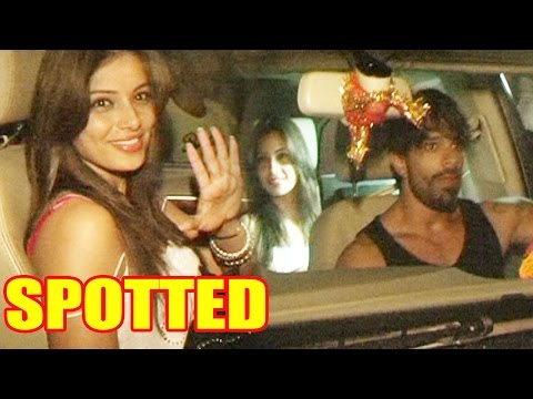 Karan Singh Grover And Bipasha Spotted Late Night!