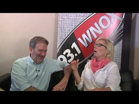 Frank Murphy interviews Leanne Morgan on the Classic Hits 93.1 Comedy Couch