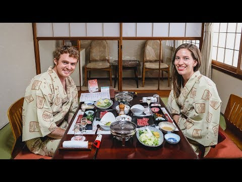 Traditional Japanese Food | Eating a Ryokan Multi-Course Kaiseki Dinner! from YouTube · Duration:  18 minutes 26 seconds