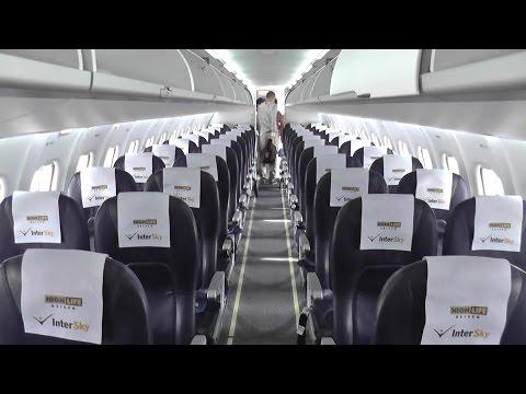 TRIPREPORT • Intersky | 3L317  Hamburg (HAM) - Friedrichshafen (FDH) | ATR 72-600 | Economy