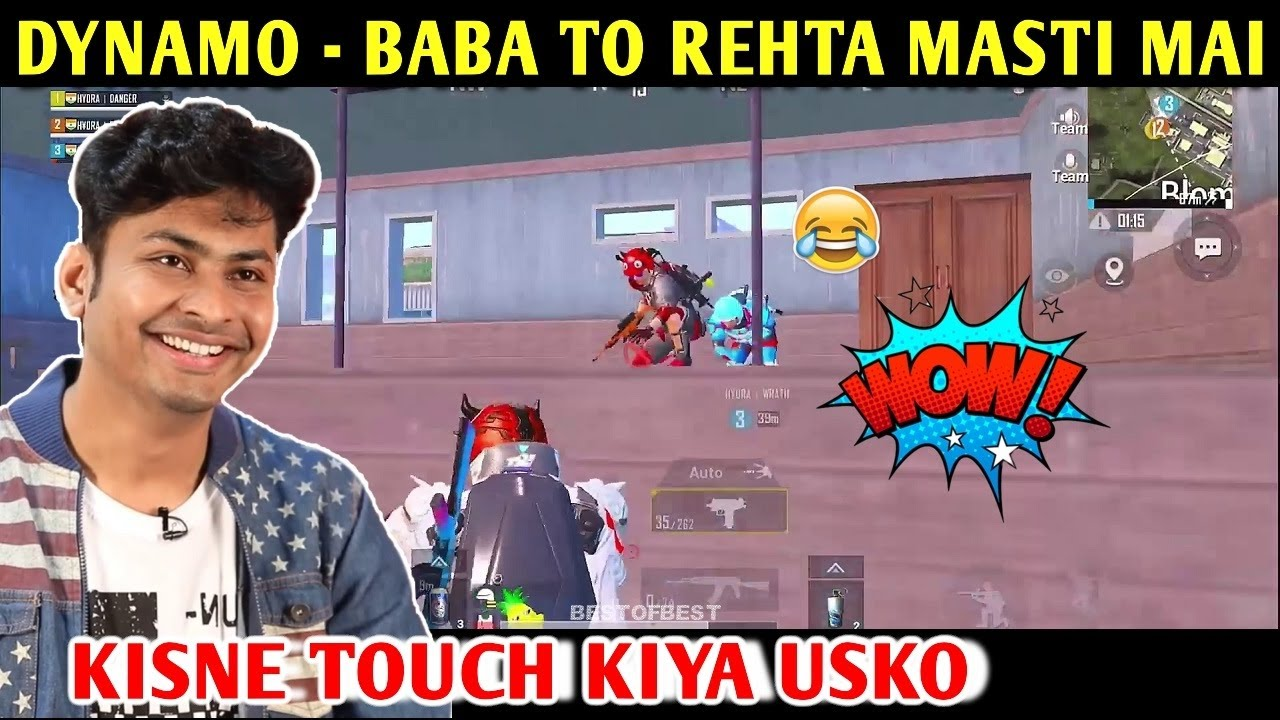 DYNAMO - BABA TO REHTA MASTI MAI | FIRST TIME LIVIK MAP | PUBG MOBILE | BEST OF BEST