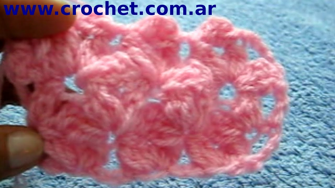 Punto jazmin en tejido crochet o ganchillo tutorial paso a paso moda a crochet youtube - Labores a ganchillo paso a paso ...