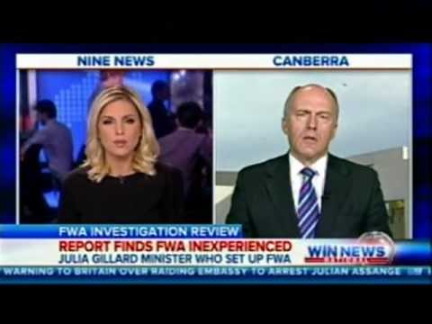Interview with Amelia Adams, Nine Morning News, 22 August 2012