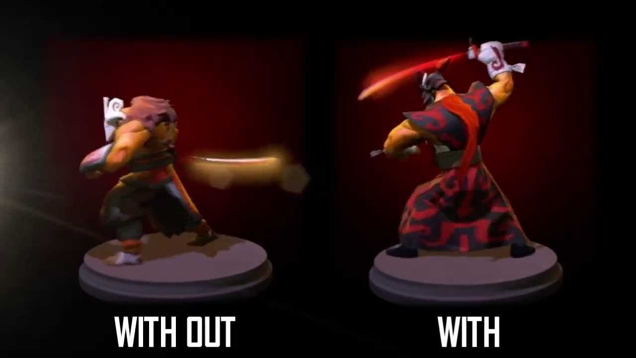Dota 2 Juggernaut Thousand Faces Set Custom Animation
