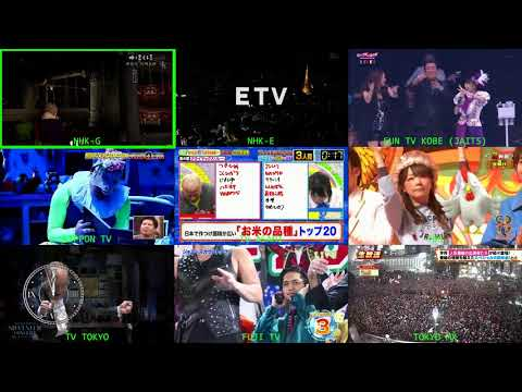 Fin de año en la tele japonesa (2017/2018)