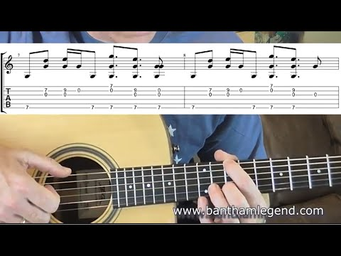 How to play The Wolves by Ben Howard - guitar TAB lesson/tutorial